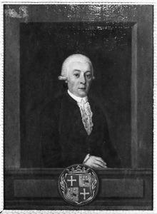 Portret van Hendrik Justus van Oldenbarneveld genaamd Witte Tullingh (1745-1795)