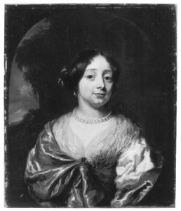 Porrtet van Maria Knotter gez. Eynatten (1651-1701)