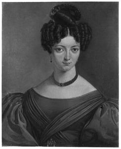 Portret van Cornelia Johanna Bakker (1812-1864)