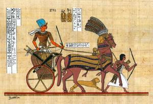Ramses II met de oorlogskroon