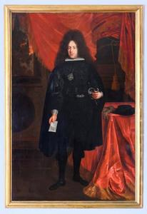 Portret van Norbert Leopold Kolowrat-Liebstein