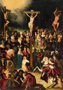 De Kruisiging (Mattheus 27:35, Lukas 23:44-48)