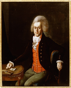 Portret van een man, onterechte genaamd Boldewijn Reint Wolter Sloet (1773-1863)