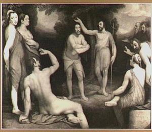 De doop van Christus (Mattheus 3:13-17)
