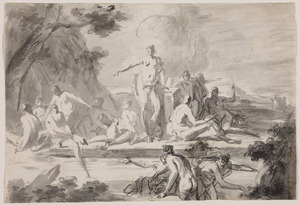 Badende nimfen (Diana en Callisto?)