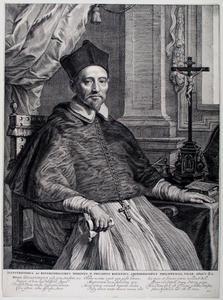 Portret van Philippus Rovenius ( ?-1651)