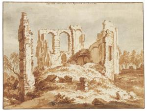 Ruïne van kasteel Egmond