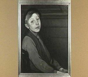Jongen luisterend naar het voorlezen (Kobus Scheffer)