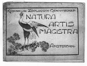 Kraanvogel, omslag Artis gidje, ca. 1927