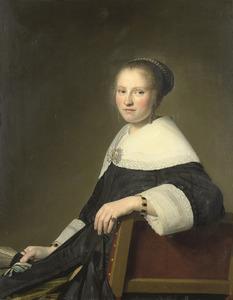 Portret van Maria Strijp (1627-1707)