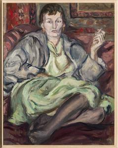 Odalisque (portret van Amrey)