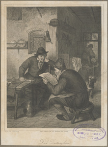 De krantlezer