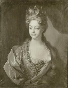 Portret van Wilhelmine Amalie von Braunschweig-Lüneburg