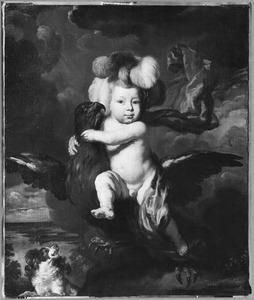 Portret van Jan Ruytenbeeck (1672-1676) als Ganymedes