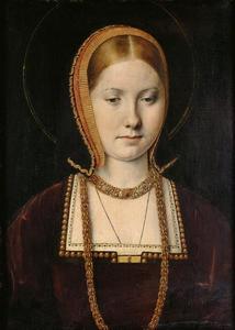 Portret van een vrouw, mogelijk Mary RoseTudor (1496-1533)