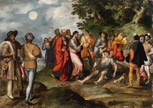 De opwekking van Lazarus (Lucas 16: 19-25)