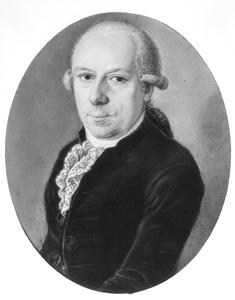 Portret van Antoni Gerard Drijfhout (1747- )
