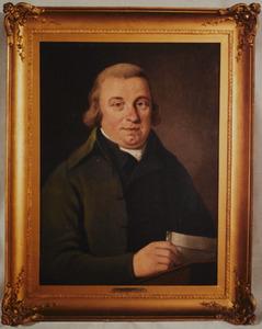 Portret van Jan Adriaan van Meurs (1742-1812)
