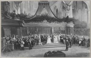 De inhuldiging van koningin Wilhelmina (1880-1962), 6 september 1898
