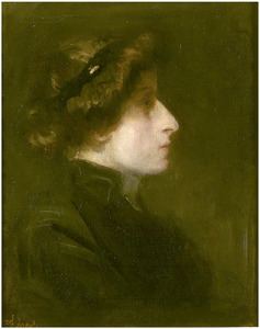 Portret van Sarah Bernhardt