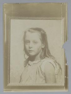 Portret van één van de kinderen Arntzenius