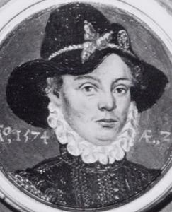 Portret van Eelcke van Mockema