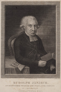 Portret van Rudolph Janisch (1750- )