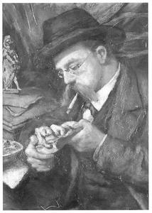 Portret van Cornelis van Ommeren (1855-1935)
