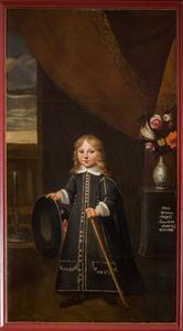 Portret van Johan Herman van Nagell (1648-1698)
