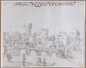 De middeleeuwse Tolsteegpoorten in Utrecht
