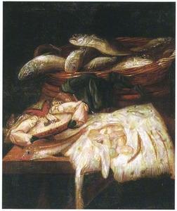 Vissen op een tafel