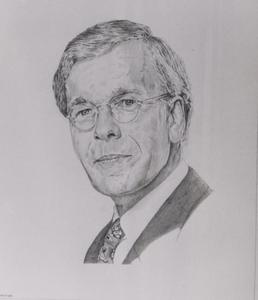 Portret van Herman Diederik Tjeenk Willink (1942- )