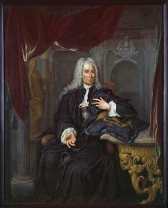 Portret van Johannes van den Bergh (1664-1755)