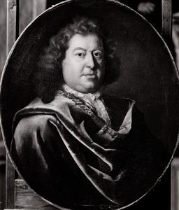 Portret van Matthias van den Brouck (....-1716)