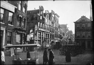 Gezicht op het Leidseplein te Amsterdam