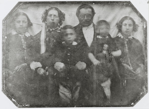 Portret van familie Doorenbos