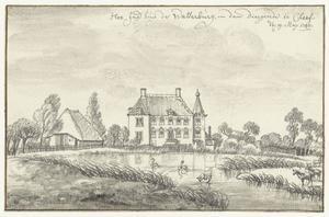 De Wasserburg in de Diergaarde buiten Kleef