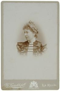 Portret van Anne Boreel (1861-1929)