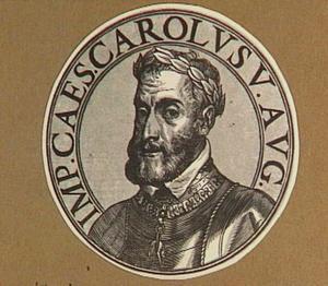 Portret van keizer Karel V