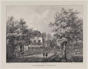 Hofstede Vredenhof aan de Wagenweg te Haarlem