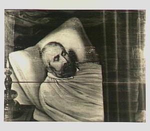 Doodsbedportret van Viglius Zuichemius van Aytta (..-1635), echtgenoot van Focckel Ruurtsdr. van Roorda