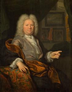 Portret van een man, waarschijnlijk Quirijn van Strijen (1660-1724)