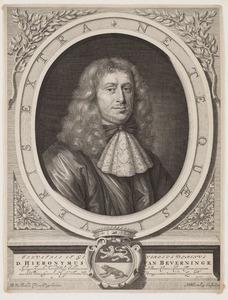 Portret van Hieronymus van Beverninck (1614-.... )