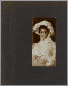 Portret van een mulattin
