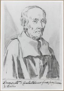 Portret van Cornelis Bloemaert (ca. 1603-1692)