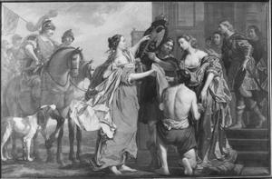 Godfried van Bouillon verkoopt zijn leen de Veluwe aan hertog Otto II van Gelre