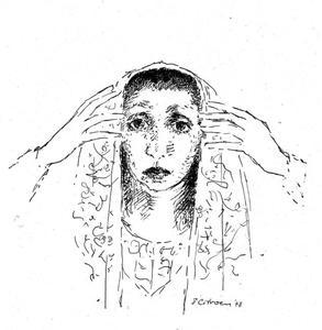 Portret van Chaja Goldstein (1908-1999)