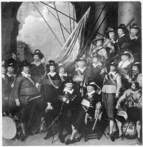 Het vendel van kapitein Seyne Coninck, 1649