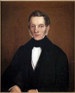 Portret van Willem Eyse Witteveen (1797-1854)