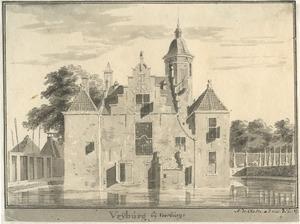 Het huis Vrijburg bij Voorburg